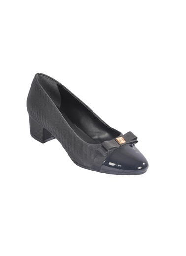 Maje 6344 Platin Kadın Topuklu Ayakkabı Siyah